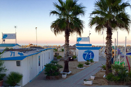 Onde Beach 70-71 Rimini