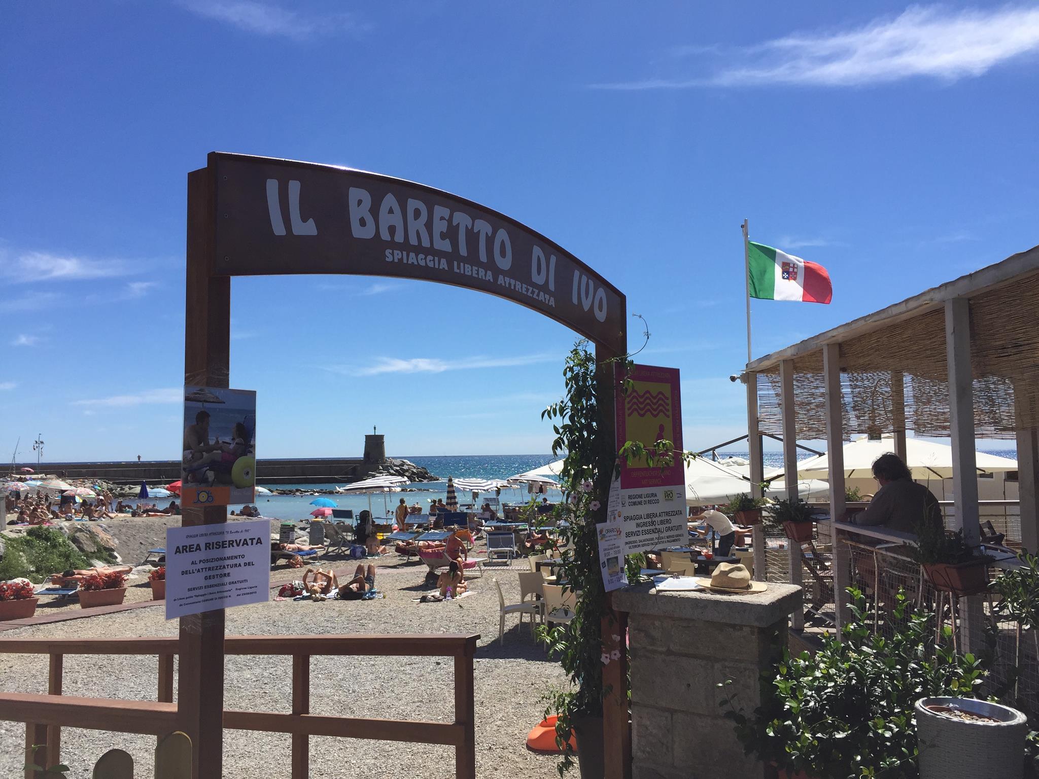 Spiaggia Libera Attrezzata Recco