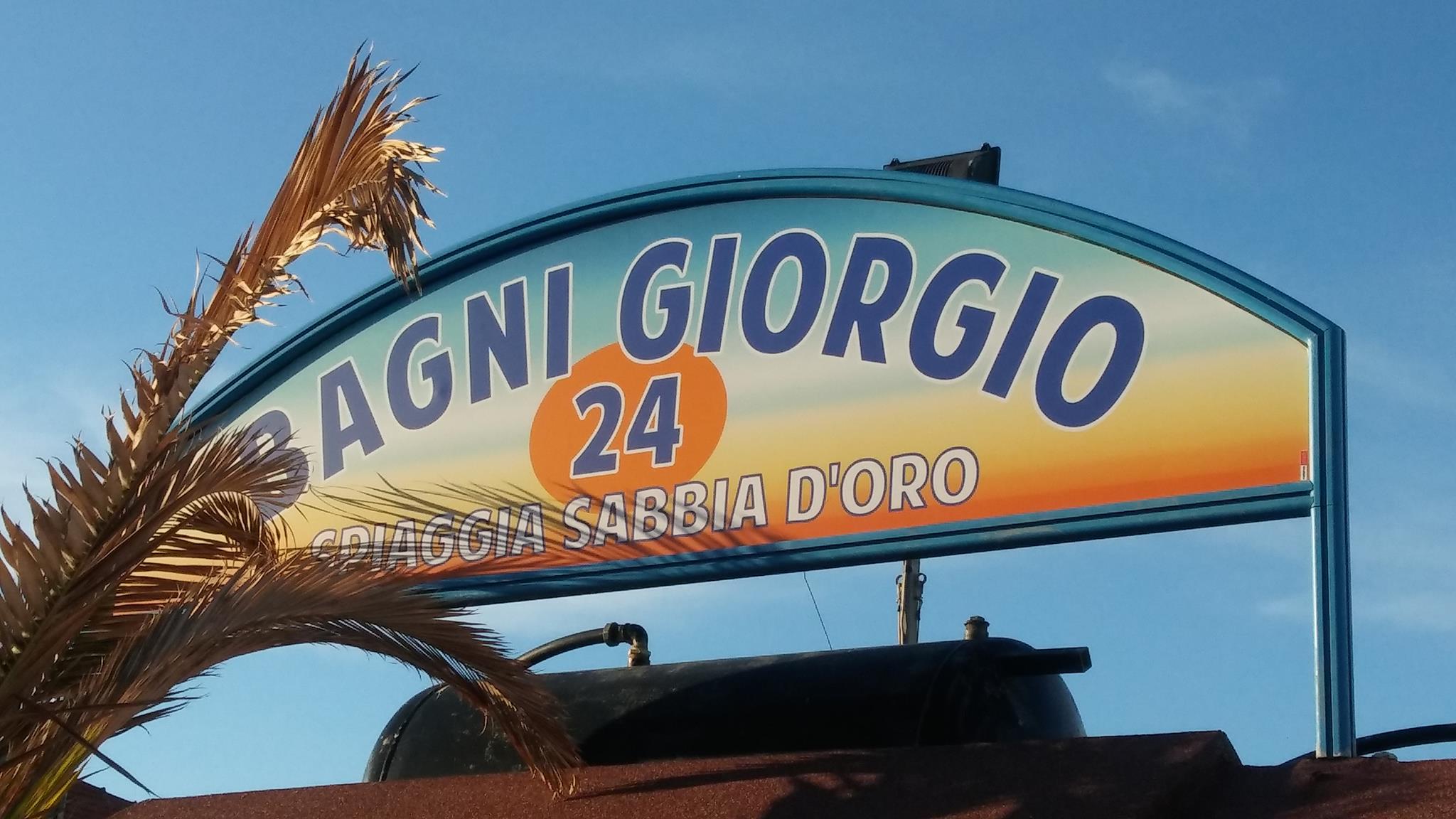 Bagni Giorgio 24 Sabbia d'oro