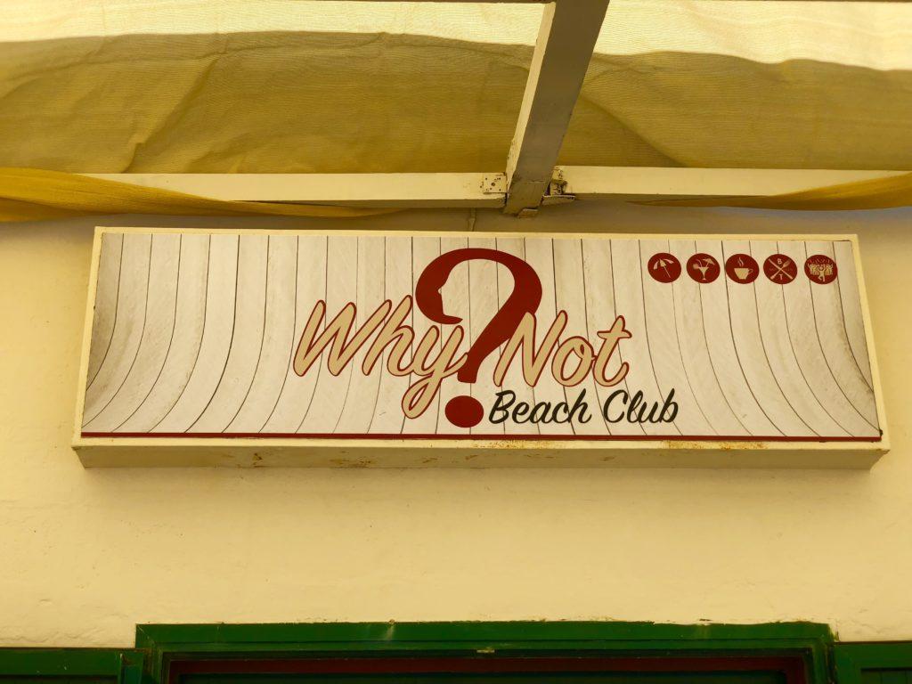 Why Not? Beach Club