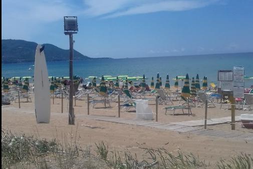 Spiaggia Lago-Tresino 1