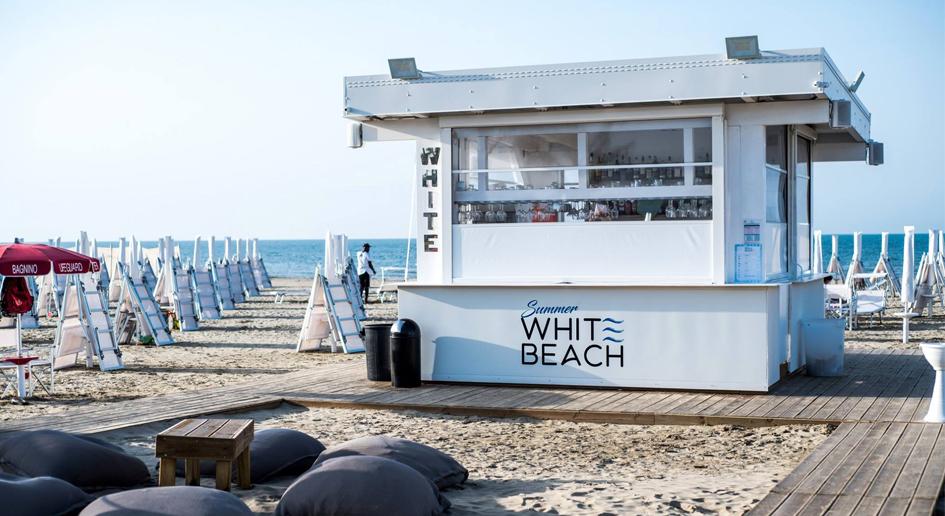 Summer White Beach