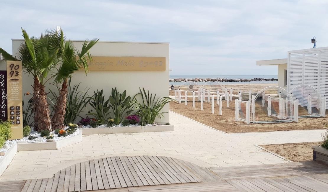 La Spiaggia Malu' 90-93