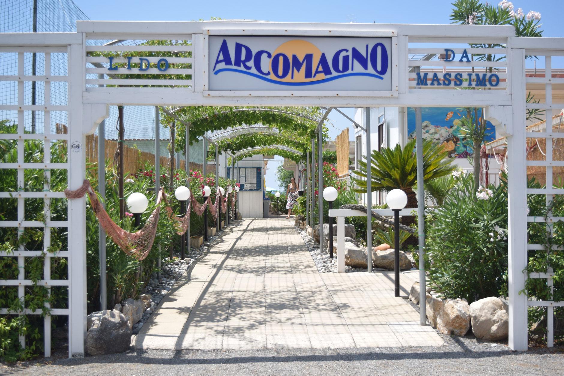 Stabilimento Balneare Ristorante Bar Arcomagno