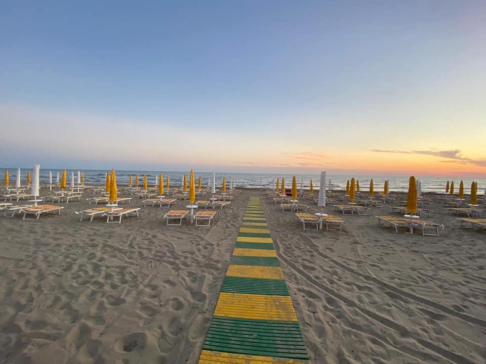 Lido Onbesonne Beach