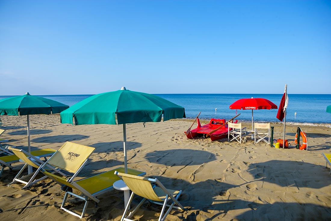 Spiaggia Privata Villaggio Artemis