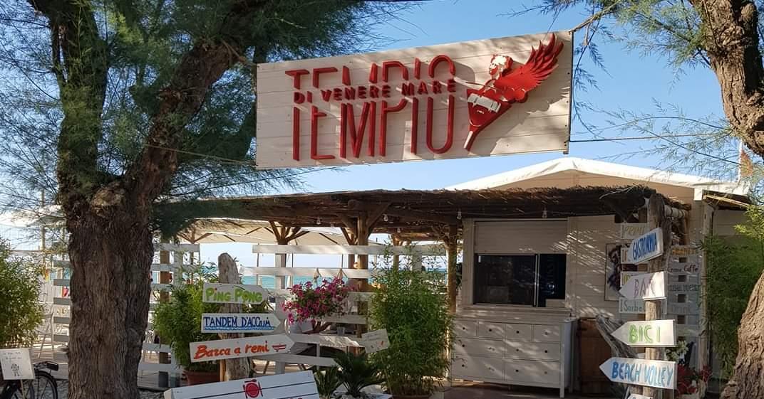 Tempio Di Venere Mare